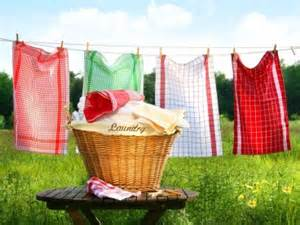 Air Drying Laundry